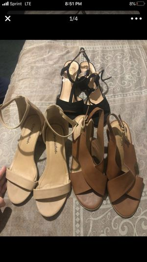 Size 7 heels for Sale in Stockton, CA