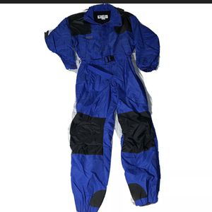 "Warm Vintage COLUMBIA Blue Black One-Piece Ski Snowmobile Snowsuit Large. Condition is ""Pre-owned"". for Sale in Corona, CA"