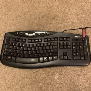 Microsoft Ergonomic USB Keyboard for Sale in Seattle, WA