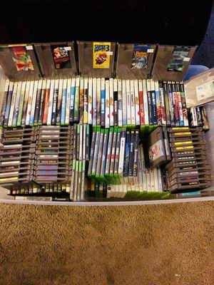 Box of video games for Sale in Dallas, TX