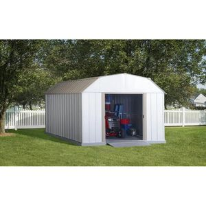 Galvanized Steel Storage Shed - 10-ft x 14-ft for Sale in Los Angeles, CA