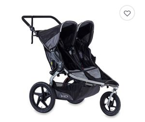 Bob Double Stroller Black for Sale in Arlington, VA