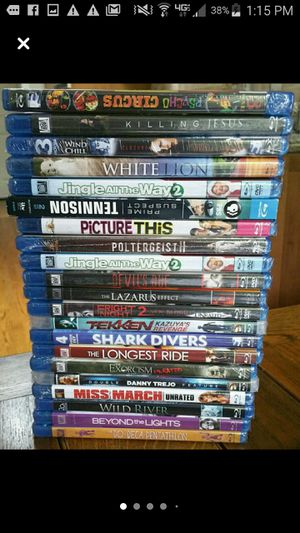 Brand new Blu Ray Movies DVD sealed for Sale in Redwood City, CA