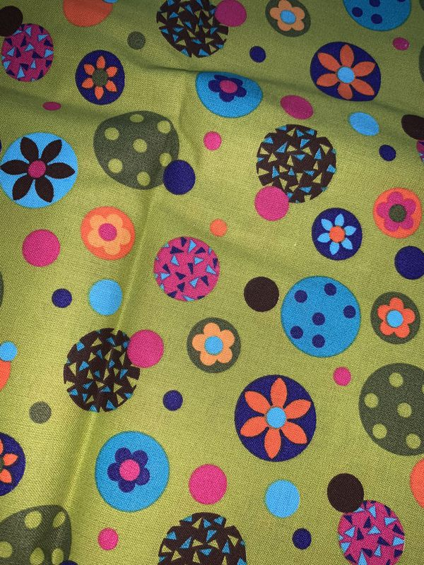 Multicolor Pattern Fabric