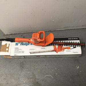 Hedge Trimmer for Sale in Alexandria, VA