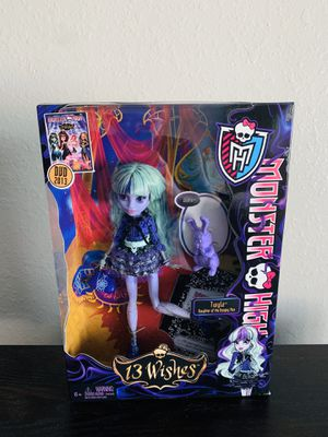 Monster High 13 Wishes Twyla Doll New Sealed for Sale in Dallas, TX