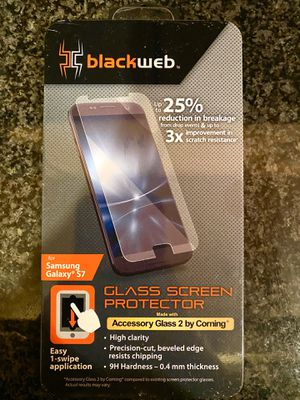 GLASS SCREEN PROTECTOR FOR SAMSUNG GALAXY S7 for Sale in Chicago, IL