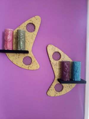 Boomerang wall shelves for Sale in Los Angeles, CA