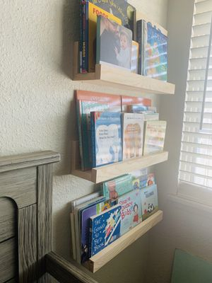 HandCrafted wall bookshelves for Sale in Bakersfield, CA