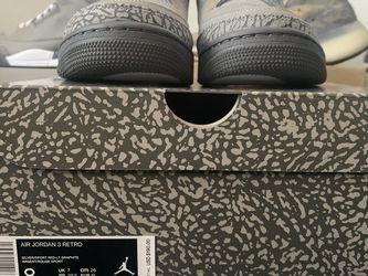 Jordan 3 Cool Grey size 8 Deadstock for Sale in Gainesville,  FL