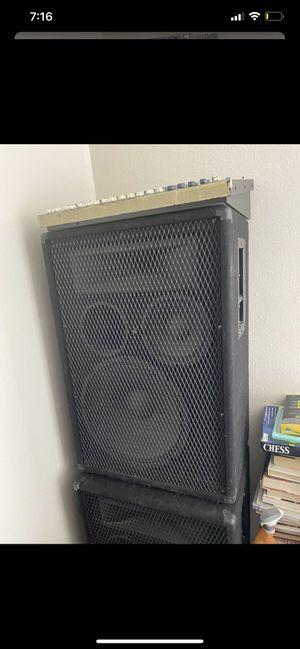 2 large speaker for Sale in Sacramento, CA