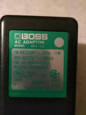 BOSS AC ADAPTOR for Sale in South Gate, CA