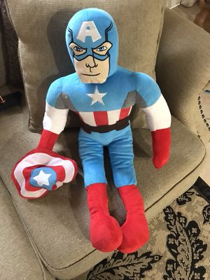 Captain America stuffed for Sale in Hollywood, FL