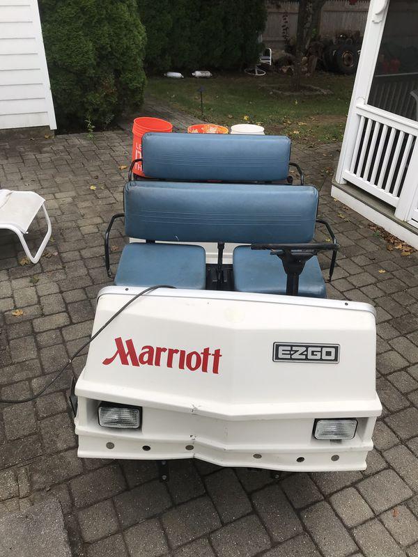 Ezgo 5 seater electric cart