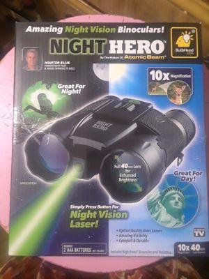 As seen on tv night hero binoculars $20 obo for Sale in Las Vegas, NV