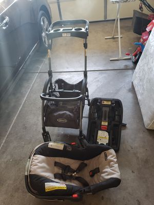 Car Seat, Stroller and Base for Sale in Las Vegas, NV