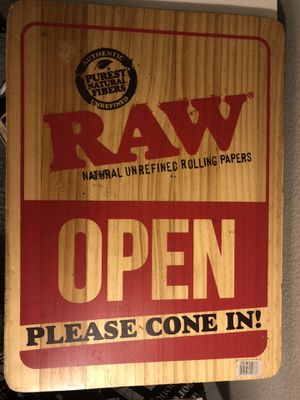 RAW rolling wooden tray open/closed for Sale in Huntington Beach, CA