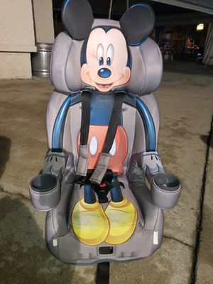 Mickey Mouse Car Seat for Sale in Baldwin Park, CA