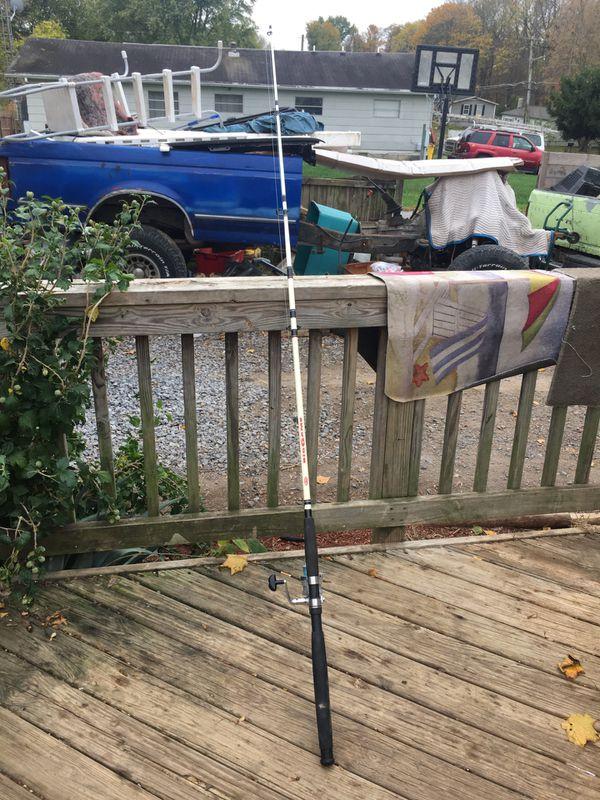 Catfish fishing pole