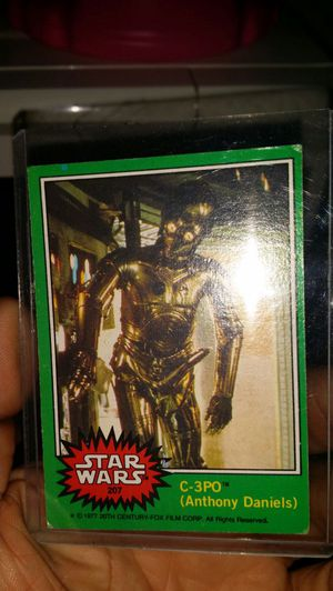 Huge lot of vintage Star Wars cards from 1977-80 for Sale in St. Louis, MO
