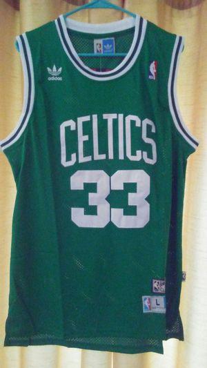 Authentic Boston Celtics (Away) Larry Bird Jersey size L $60 for Sale in Cedar Hill, TX