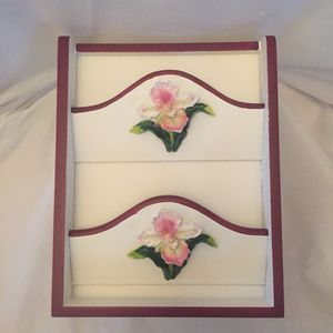 Orchid Key Cabinet & Letter Holder for Sale in Falls Church, VA