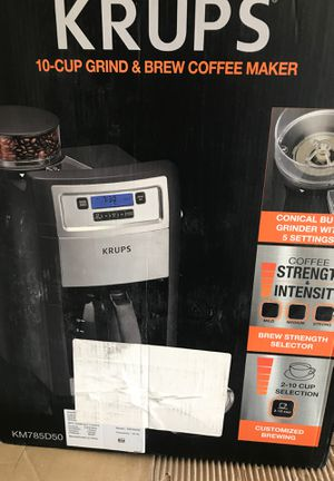 Krups Brew Coffee Maker for Sale in Gaithersburg, MD