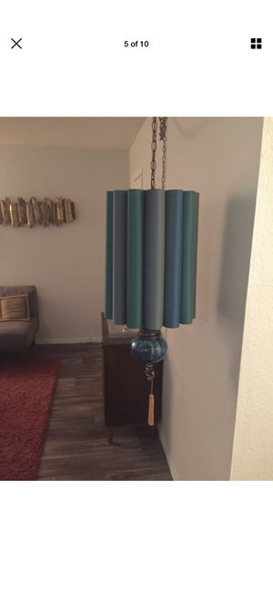 Mad Men style mid century modern swag lamp for Sale in Los Angeles, CA