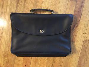 Vintage black Coach messenger bag for Sale in Seattle, WA