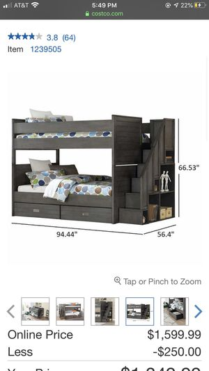 White bunk bed for Sale in Vancouver, WA