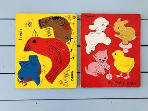 VINTAGE KIDS PUZZLES for Sale in Whittier, CA