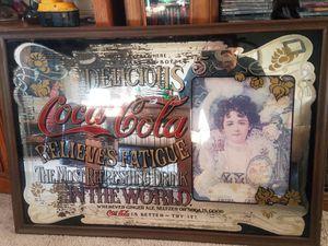 Antic coke mirror for Sale in University Park, IA