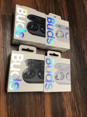 Samsung buds (wireless headphones) new for Sale in Garland, TX
