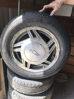 car tires 195\60 R15 for Sale in Birch Run, MI