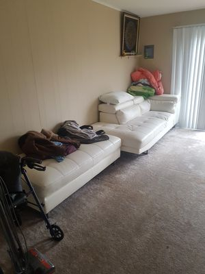 real leather sofa set for Sale in Columbus, OH