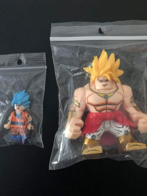 Dragon ball z legos 5$ each for Sale in Cleveland, OH