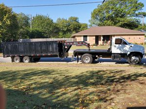 🤝🏼💪🏼25 yard capacity dump trailer👷🏽♂️🤝🏼 for Sale in Cedar Hill, TX