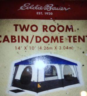 Big 2 room tent w lights for Sale in Oak Lawn, IL