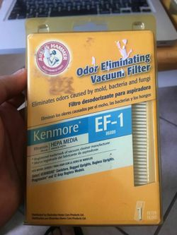 Arm & Hammer Kenmore Ef-1 Hepa Vacuum Filter Ef-1 for Sale in Dallas,  TX