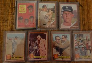 Baseball cards, 1962 topps babe ruth and more for Sale in Bonita, CA