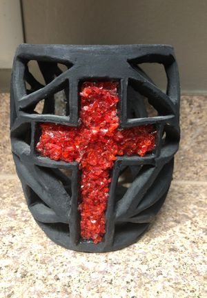 Cross / Holy Spirit Candle Holder for Sale in Winter Park, FL