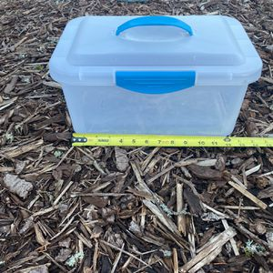 Bin With Snap On Lid for Sale in Issaquah, WA