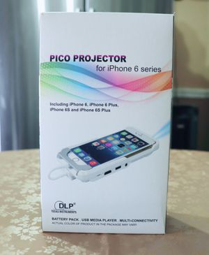 PICO Projector for IPhone 6 Series for Sale in Brooklyn, NY