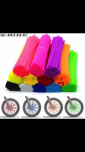 72 pcs universal rim wheel color skin cover for Sale in Orlando, FL
