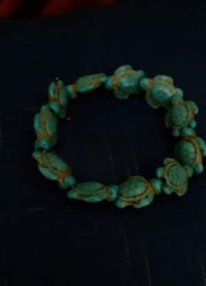 Turquoise Turtles and hand painted beads for Sale in Tacoma, WA