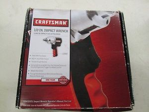 "Craftsman 1/2"" Drive High Impact, Air Torque Wrench, ""NEW"" for Sale in Denver, CO"