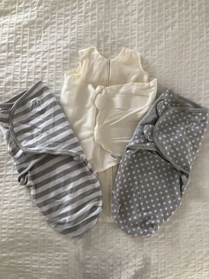 New HALO SleepSack Newborn and EUC SwaddleMe Swaddles Small 2 pk for Sale in Rockville, MD