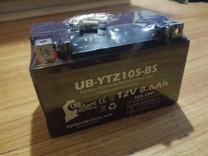 Brand new motorcycle battery yamaha honda Suzuki kawasaki zx10r gsxr 1000 cbr 1000rr r1 for Sale in Pasadena, CA