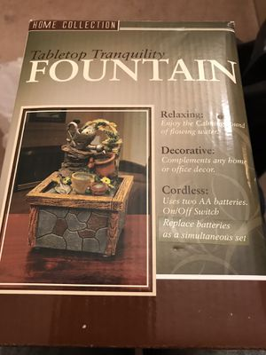 Table top fountain for Sale in Berkeley, MO