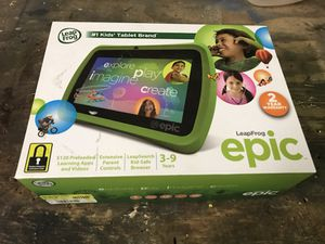 Leap frog epic-priced to sell!!! for Sale in Pittsburgh, PA